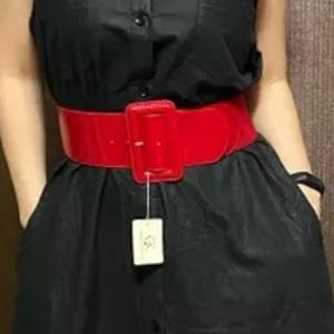 🔥Gloss strechy belt.